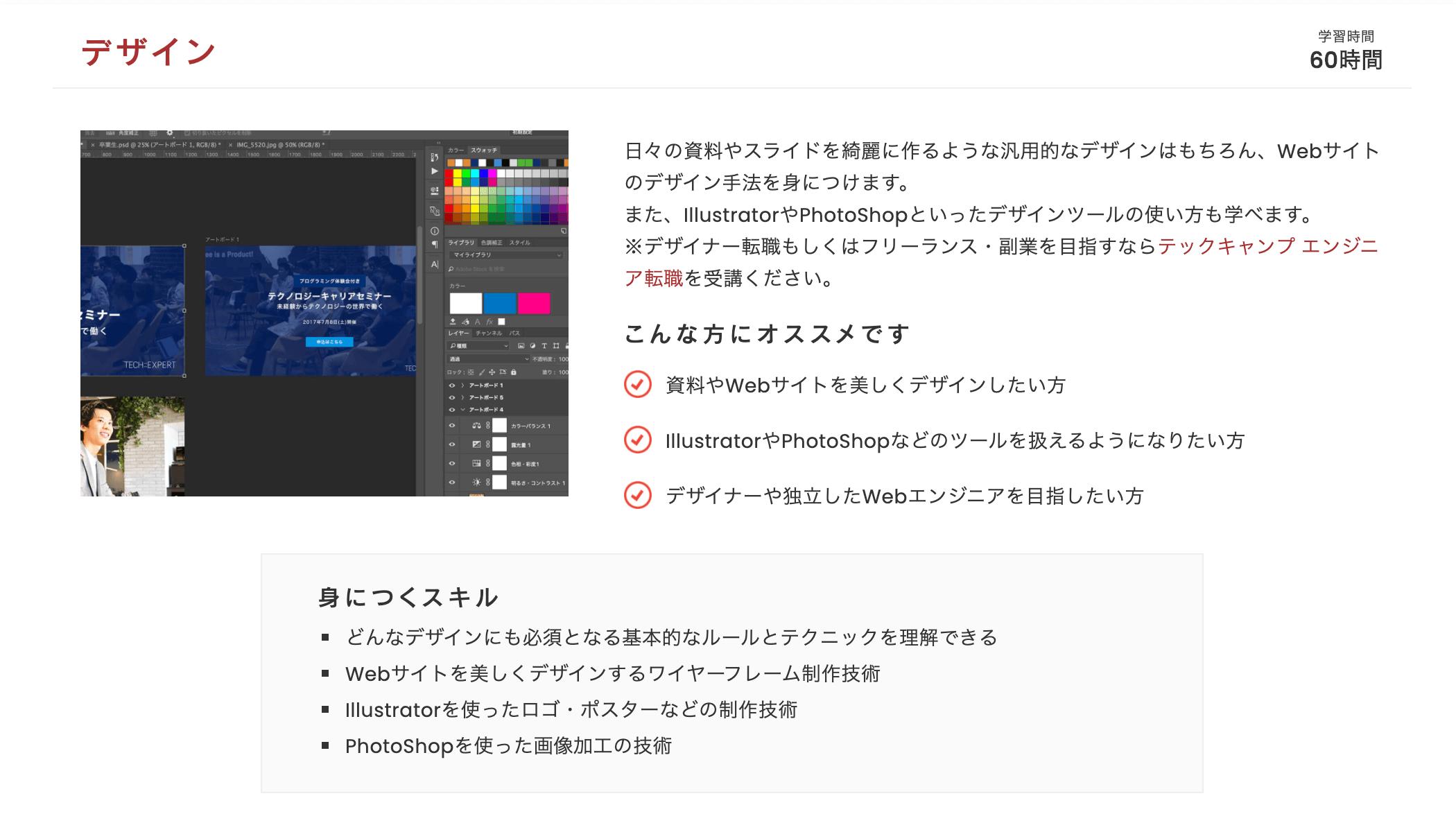 プログラミング教養 デザイン