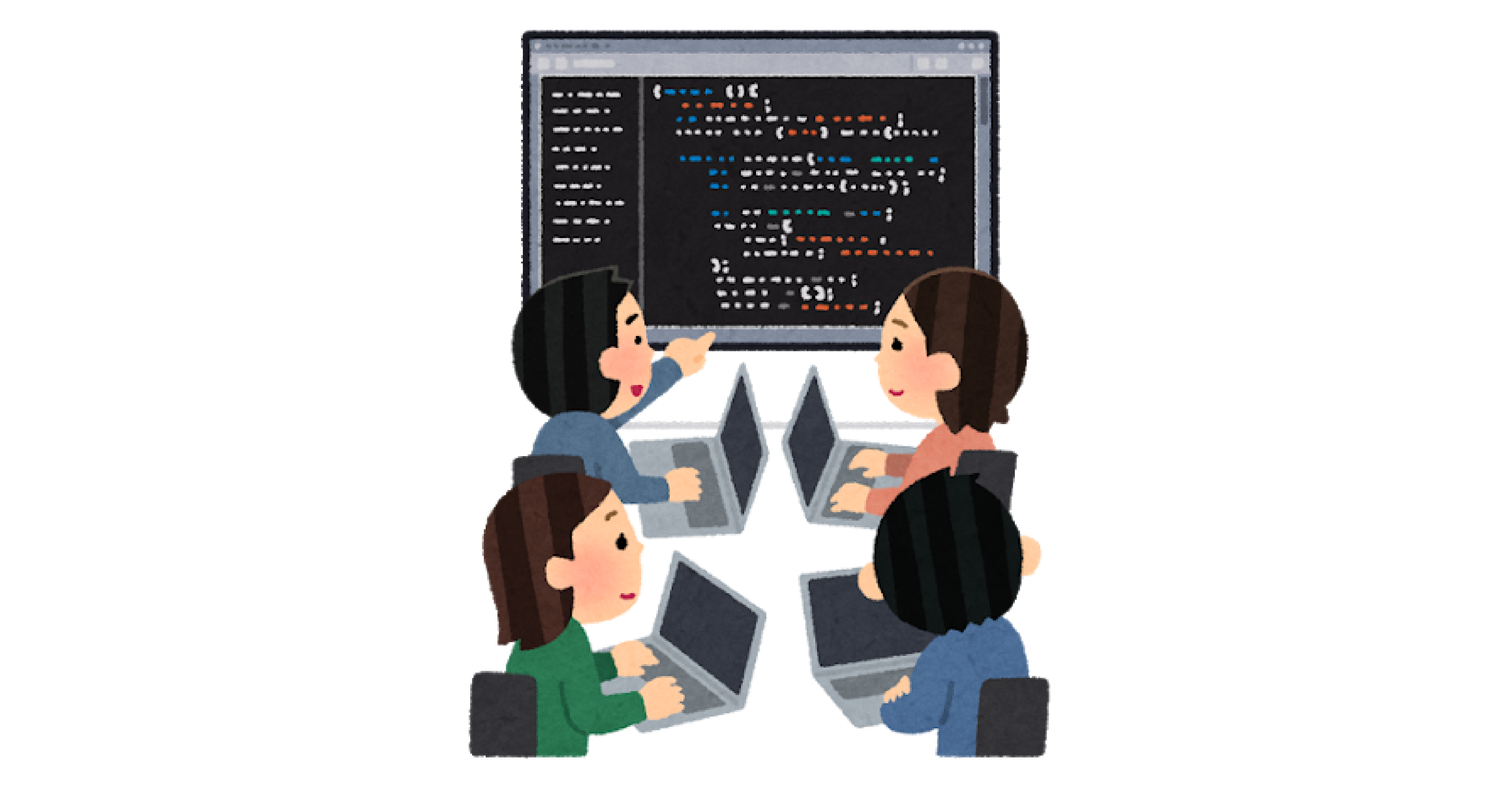 スクールでプログラミング学習